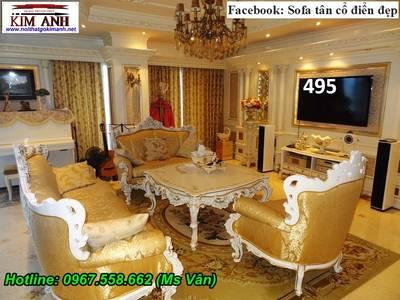 Ghế Sofa Cổ Điển Cho Phòng Khách Đẳng Cấp Hoàng Gia 13