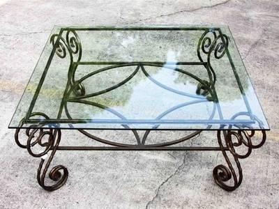 Bàn sắt, bàn sofa sắt, gia công bàn sắt 14