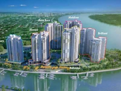 Đảo Kim Cương Quận 2, cho thuê căn 2pn nội thất cao cấp 4