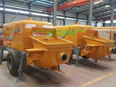 Bơm bê tông chạy dầu Diesel 40m3/h hàng nhập 0