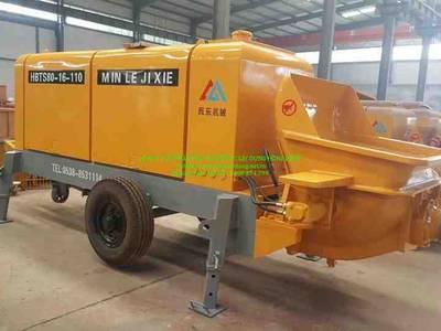 Bơm bê tông chạy dầu Diesel 40m3/h hàng nhập 1