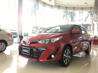 Bán Toyota Yaris G 2019 màu Đỏ giao ngay 0