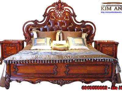 Nơi bán Giường Ngủ Tân Cổ Điển đẹp, giá rẻ, uy tín, chất lượng cao. 1