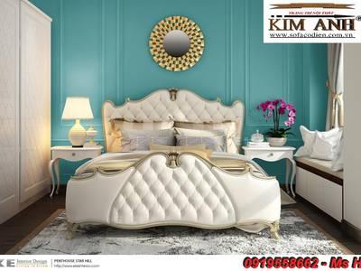 Nơi bán Giường Ngủ Tân Cổ Điển đẹp, giá rẻ, uy tín, chất lượng cao. 3