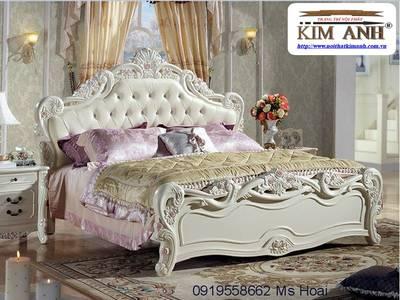 Nơi bán Giường Ngủ Tân Cổ Điển đẹp, giá rẻ, uy tín, chất lượng cao. 6