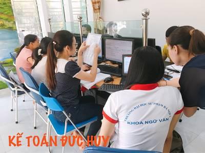 Dạy kế toán máy tại Ninh Bình. Đào tạo kế toán thực hành cấp tốc trên chứng từ thực tế tại Ninh Bình 6