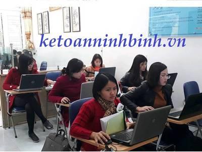 Học kế toán tốt   Uy tín nhất tại Ninh Bình . Lớp học kế toán thực hành thực tế tại Ninh Bình 4
