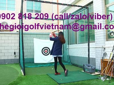 Bộ khung lưới chơi golf 3m, lưới tập golf tại nhà 1