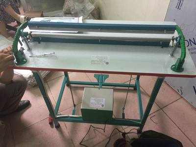 Máy hàn túi ni lông công nhiệp PSF 650 / máy hàn túi bạc dập chân / máy ép túi ny lông dập chân 18