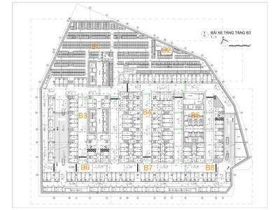 Bán chỗ đỗ xe VIP thời hạn 50 năm, tại Chung cư Discovery Complex, 302 Cầu Giấy 2
