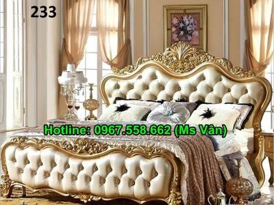 Giường ngủ cổ điển cao cấp - đặt mua bộ phòng ngủ phong cách hoàng gia quá xinh 8