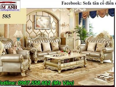 Sofa tân cổ điển tphcm - xưởng sản xuất ghế cổ điển phong cách châu âu 0