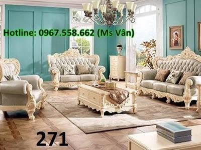 Sofa tân cổ điển tphcm - xưởng sản xuất ghế cổ điển phong cách châu âu 1