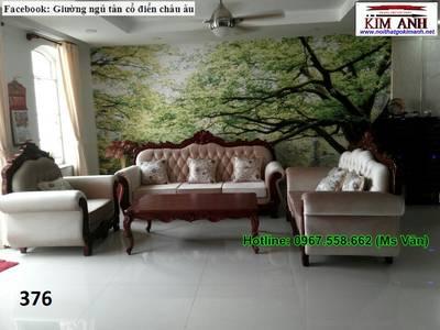 Sofa tân cổ điển tphcm - xưởng sản xuất ghế cổ điển phong cách châu âu 6