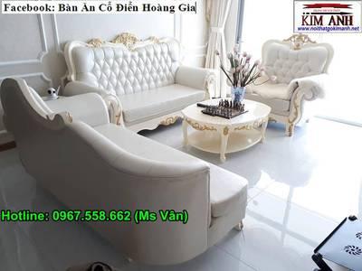 Sofa tân cổ điển tphcm - xưởng sản xuất ghế cổ điển phong cách châu âu 17