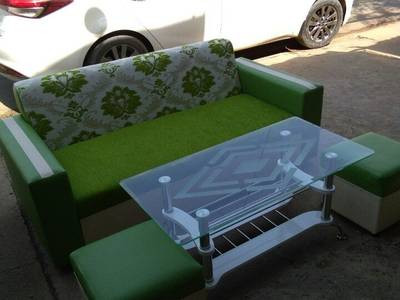 Ghế  sofa cánh sen Nội Thất Hương Linh 2