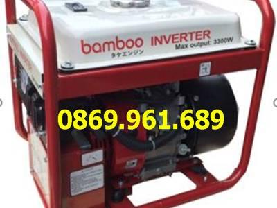 Máy phát điện xách tay bamboo bmb 3300W INVENTER 3kw xăng 1