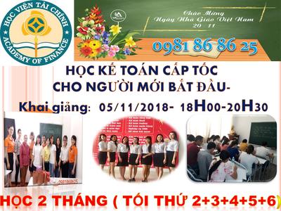Đào tạo kế toán cấp tốc tại Nha Trang 0