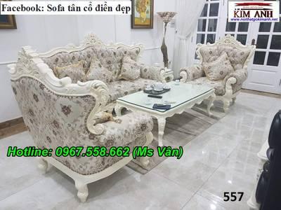 Nơi bán sofa cổ điển đặt đóng siêu đẹp, uy tín, chất lượng 1