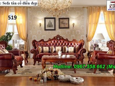 Nơi bán sofa cổ điển đặt đóng siêu đẹp, uy tín, chất lượng 3