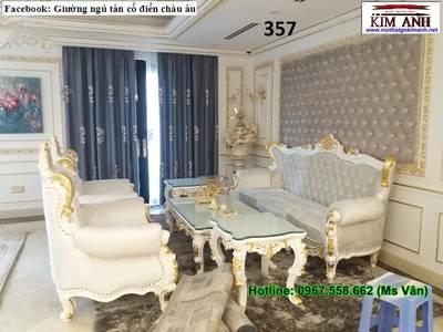 Nơi bán sofa cổ điển đặt đóng siêu đẹp, uy tín, chất lượng 9