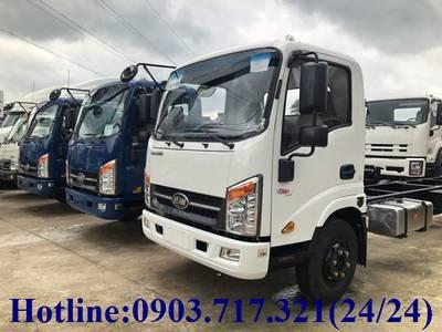Xe tải Veam VT260 thùng dài 6m1. Xe tải Veam 1t9 thùng dài 6m  VT260-1  Xe Veam VT260 1