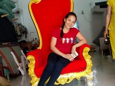 Ghế sofa hoàng gia đẹp - Ghế hoàng gia cho thuê sự kiện 3