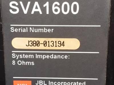 Loa JBL SVA 1600 made in usa đẹp và nguyên zin 16