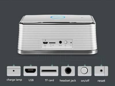 Loa Bluetooth mini Bose SoundLink BE-8 kiểu đẹp mắt, sang trọng, 0