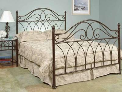 Giường sắt khách sạn, giường sắt đơn giản 7