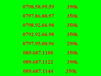Sim số đẹp mobifone, sim lộc phát 68, sim thần tài 39, 79 9