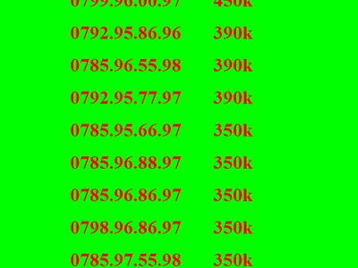 Sim số đẹp mobifone, sim lộc phát 68, sim thần tài 39, 79 13
