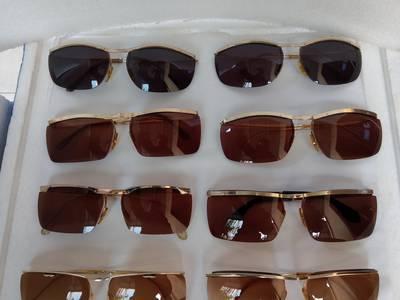 Hàng mới về kính cổ mạ vàng bọc vàng có đầy đủ các thương hiệu nổi tiếng trên toàn thế giới. 7