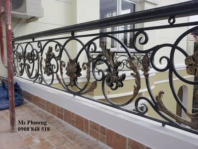 Thiết kế, gia công, thi công hoàn thiện cổng, lan can, hàng rào vách ngăn sắt mỹ thuật 5