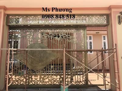 Thiết kế, gia công, thi công hoàn thiện cổng, lan can, hàng rào vách ngăn sắt mỹ thuật 6