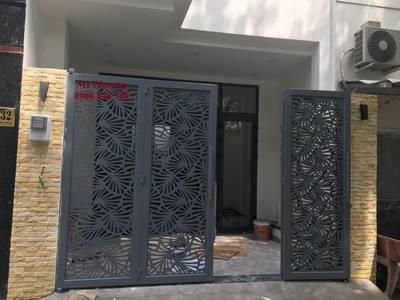Thiết kế, gia công, thi công hoàn thiện cổng, lan can, hàng rào vách ngăn sắt mỹ thuật 9