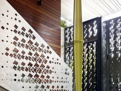 Thiết kế, gia công, thi công hoàn thiện cổng, lan can, hàng rào vách ngăn sắt mỹ thuật 11