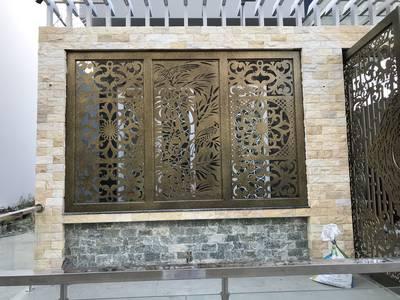 Thiết kế, gia công, thi công hoàn thiện cổng, lan can, hàng rào vách ngăn sắt mỹ thuật 15