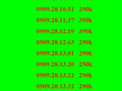 Sim lộc phát , sim thần tài, sim mobifone, sim 0909 6
