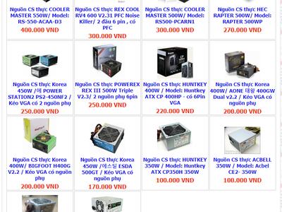 MÁY TÍNH THIÊN LÔI:.. Vga gtx1050..gtx750Ti..gtx750..gtX650Màn hình  HP, LG, Dell 20..22..27in.. 4