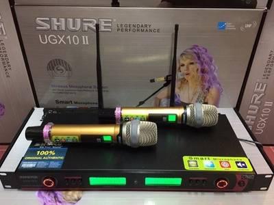Micro không dây Shure UGX 10 II 2