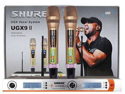 Micro không dây Shure UGX9 II 1