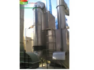 Hệ thống xử lý khí thải- Tháp hấp thụ 1