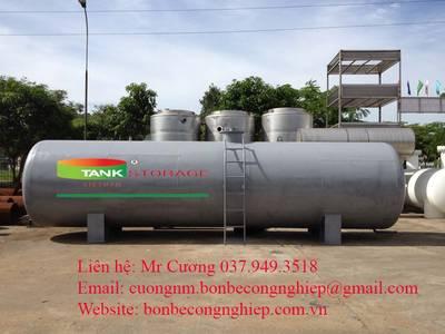 Bồn chứa xăng, dầu trụ nằm 1