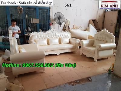 Ghế sofa cổ điển đẹp, xưởng chuyển sofa cổ điển hoàng gia cao cấp 2