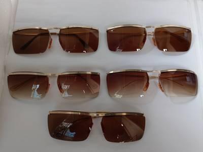5 cái kính cổ  bọc vàng mới về có đầy đủ các thương hiệu nổi tiếng trên toàn thế giới. 4