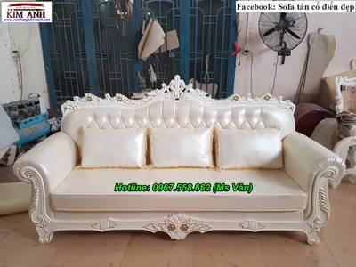 Thanh lý ghế sofa cổ điển giá gốc tại xưởng 1