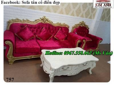 Thanh lý ghế sofa cổ điển giá gốc tại xưởng 6