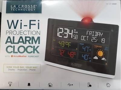 Đồng hồ treo tường, để bàn La Crosse C87214 Wireless Color Weather Station 1