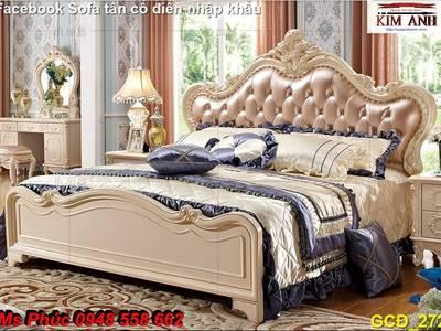 Báo giá tại xưởng bộ nội thất phòng ngủ tân cổ điển: giường ngủ, bàn phấn, tủ,.. phong cách châu âu 9